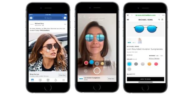 Anúncios chegaram às selfies no Facebook