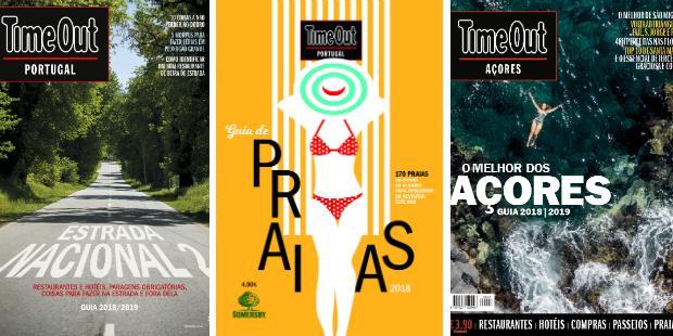 Time Out lança três guias de Verão