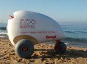 Ecoponto móvel da Buondi vai recolher lixo nas praias