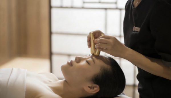 As massagens japonesas do Ritz Spa
