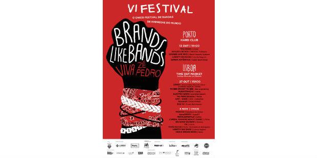 Brands Like Bands homenageia Zé Pedro
