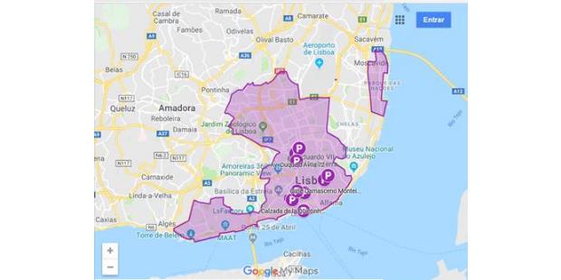 Lisboa vai ter estacionamento só para carros partilhados