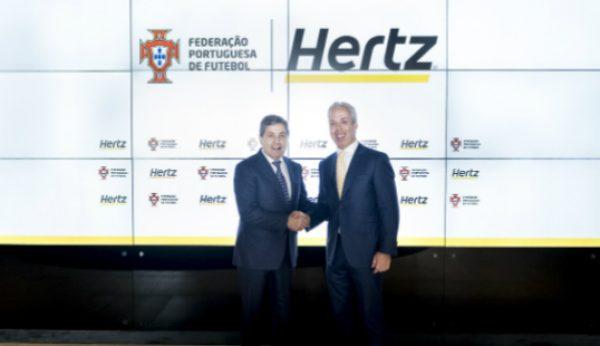 Hertz renova com a Federação Portuguesa de Futebol