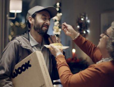 Entregador da Wook salva o Natal
