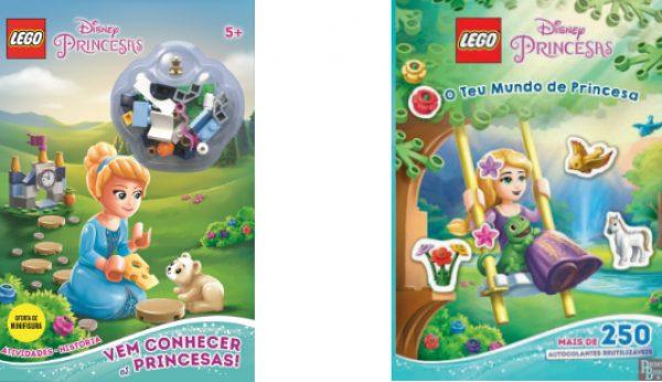 Faz as tuas histórias com as LEGO Disney Princesas
