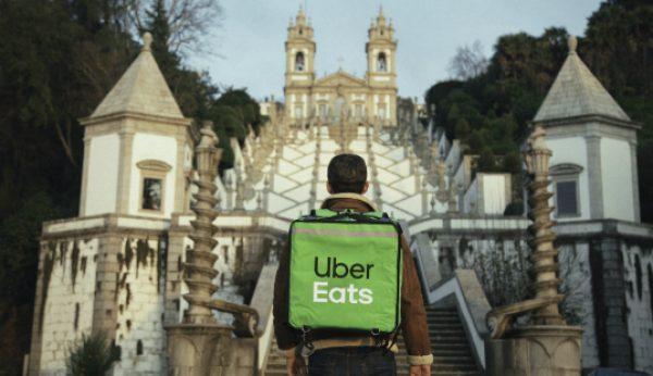 Uber Eats continua expansão a Norte