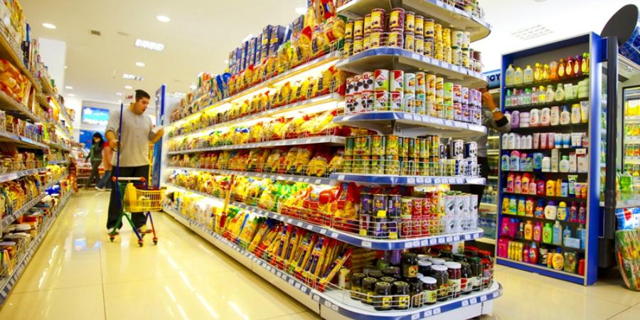 supermercado compras cliente