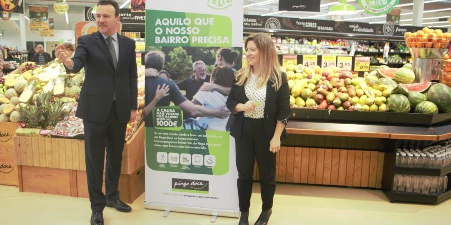 Domingos Sousa e Maria Joao Coelho pingo doce