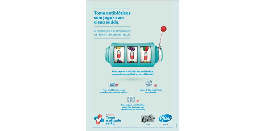 Pfizer alerta para os cuidados a ter com os antibióticos
