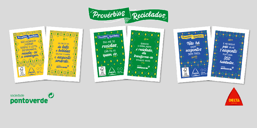 Pacotes de açúcar Delta promovem a reciclagem