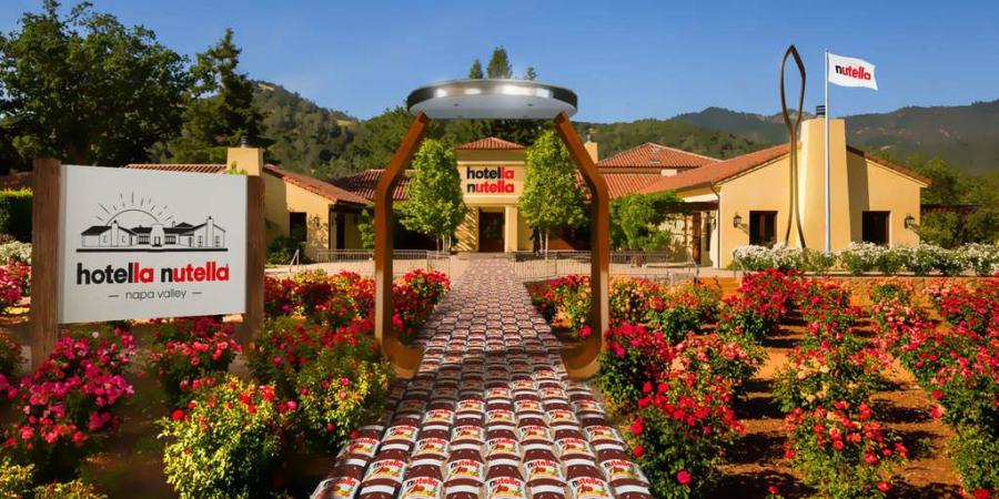 Hotella Nutella: o hotel onde a Nutella é rainha