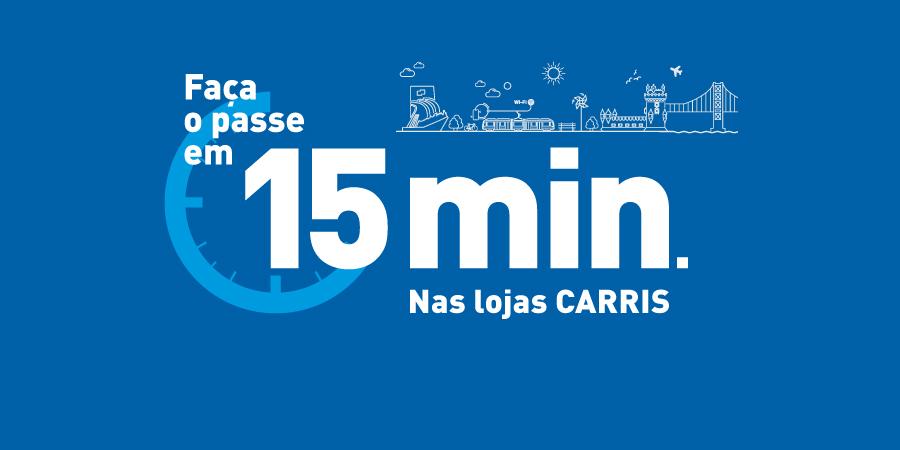 Já pode fazer o passe em Lisboa em 15 minutos