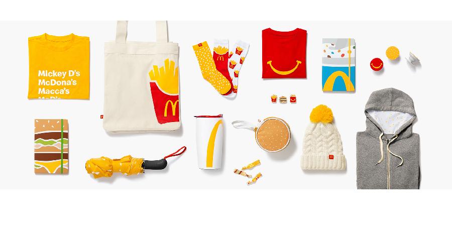 McDonald's encontrou nova fonte de receita: merchandising