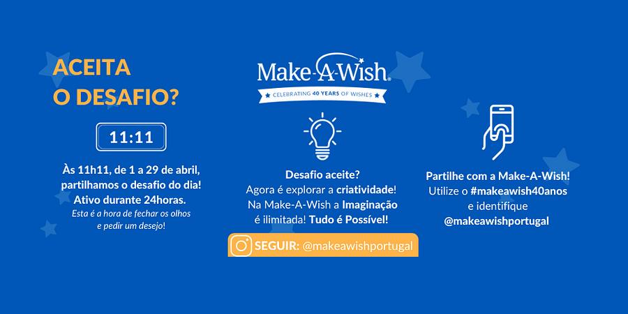 make-a-wish portugal
