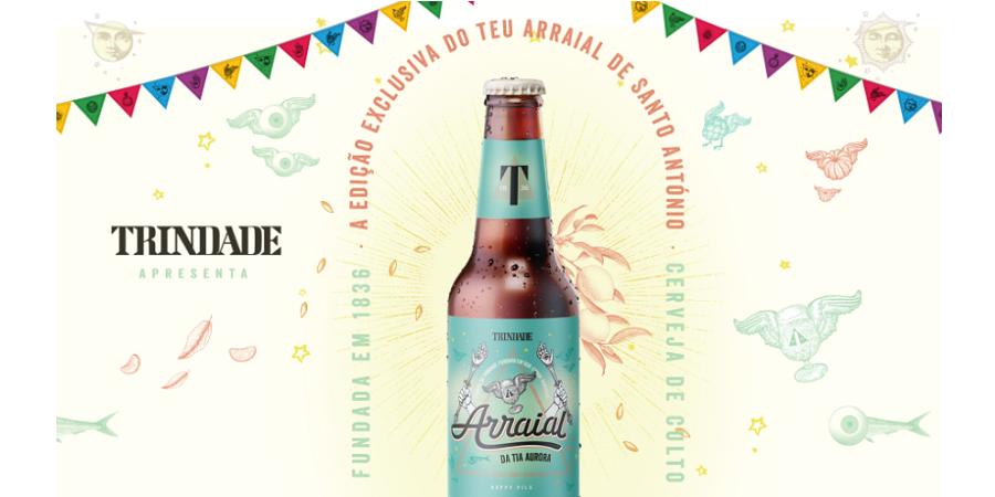 Arraial em casa? Cerveja Trindade quer ajudar a matar a sede