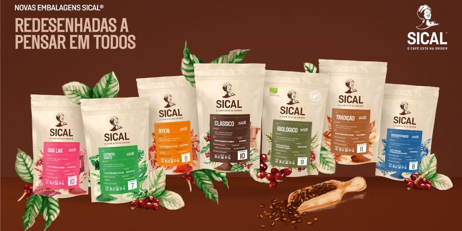 Novas embalagens Sical dão mais informações sobre o tipo de café e origem